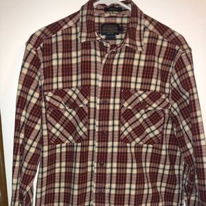 Pendleton Long Sleeve button up shirt Sz small